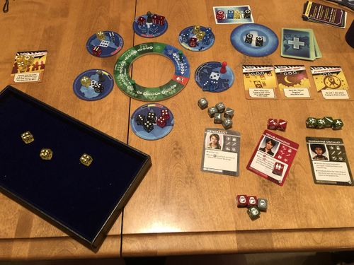 Board Game: Pandemic: The Cure