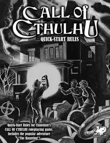RPG Item: Call of Cthulhu Quick-Start Rules
