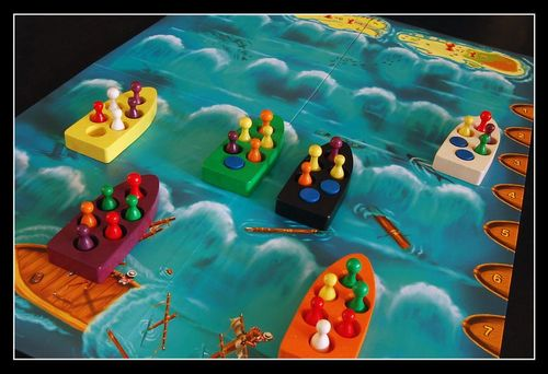 Board Game: Lifeboats