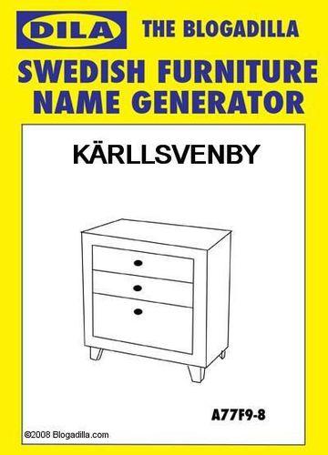 Your Ikea Furniture Name Boardgeek