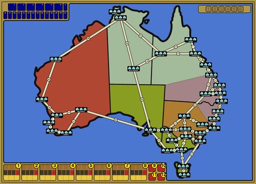 Australia Map Grid.Australia Power Grid Boardgamegeek