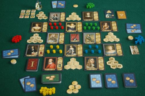 Board Game: Louis XIV