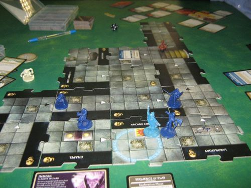 Game 1: To find the Icon of Ravenloft! (pictorial