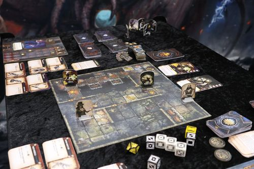 Machina Arcana revised edition at Spiel 2018