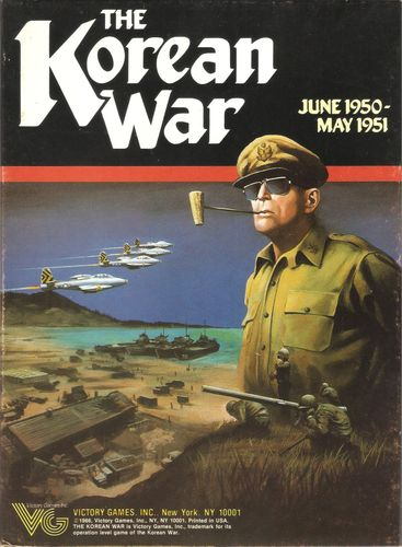 Board Game: The Korean War June 1950-May 1951