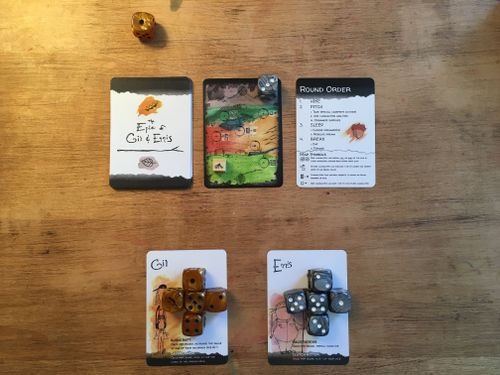 Board Game: The Epic of Gil & Ennis