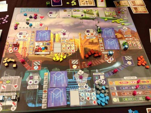 Board Game: Euphoria: Build a Better Dystopia