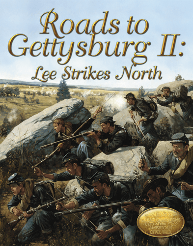 Board Game: Roads to Gettysburg II: Lee Strikes North