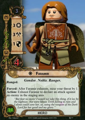 Faramir ideas | The Lord of the Rings: The Card Game