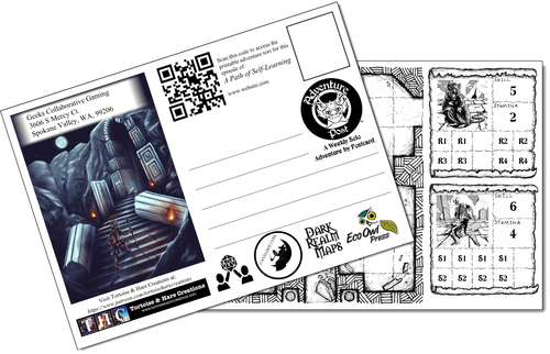 Board Game: Adventure Post: A Path of Self-Learning