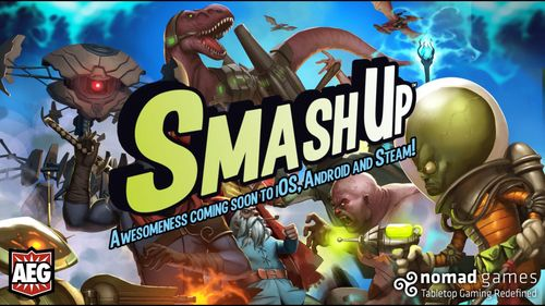 App News: Smash Up Headed to Mobile and Police Precinct Released