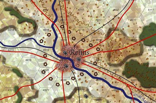 Board Game: Marne 1918: Friedensturm