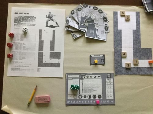 Board Game: Guildhaven City