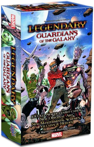 Board Game: Legendary: A Marvel Deck Building Game – Guardians of the Galaxy