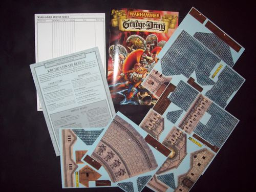 Board Game: Warhammer (Fifth Edition): The Grudge of Drong