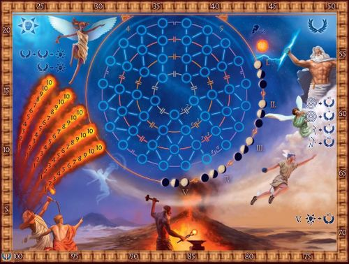 Board Game: The Heavens of Olympus