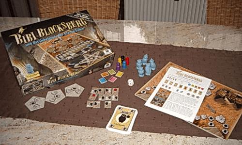 Board Game: Bibi Blocksberg und das Geheimnis der blauen Eulen!