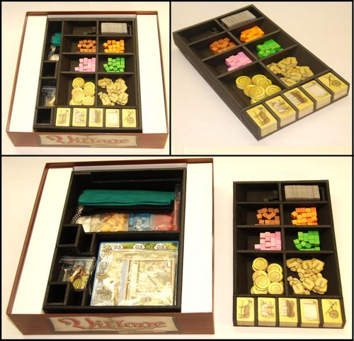 Shared Board Cause To Pause: Board Game Inserts And Organisers By Folded
