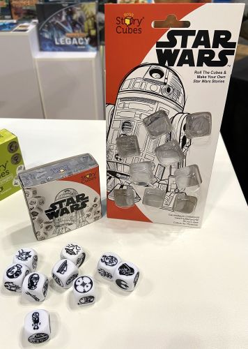 Board Game: Rory's Story Cubes: Star Wars