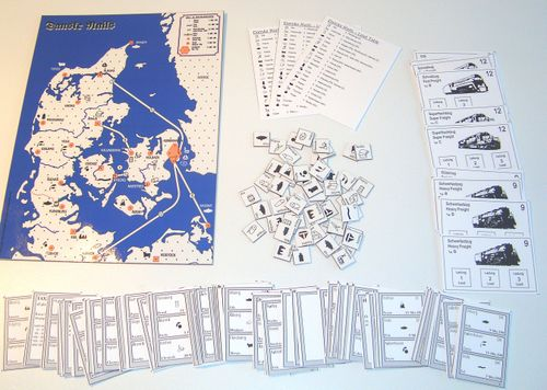 Board Game: Danske Rails