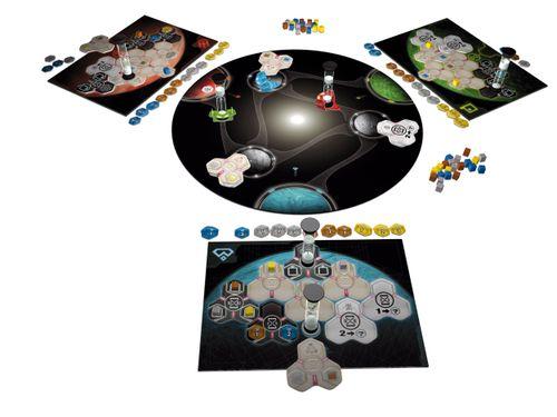 Board Game: Time 'n' Space