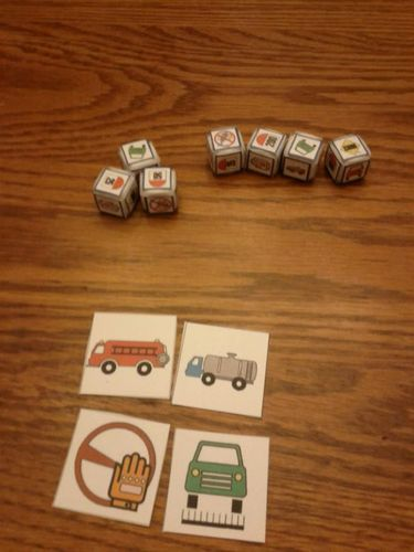 Board Game: Mille Bornes Express