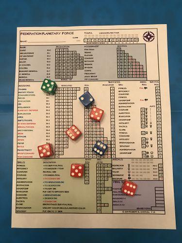Board Game: Federation Stellar Force