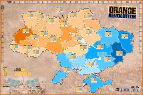 Board Game: Orange Revolution