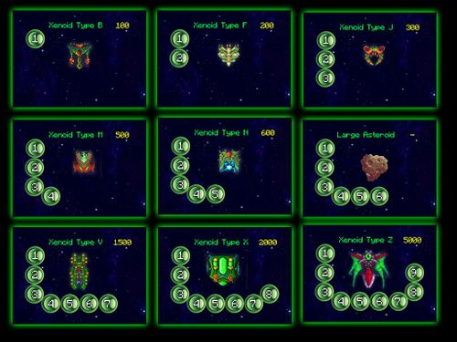 Board Game: Xenoid: The Arcade-Style Solo Space-Shooter Card Game