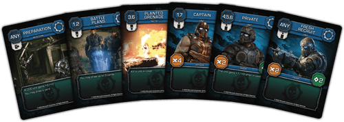 Board Game: Gears of War: The Card Game