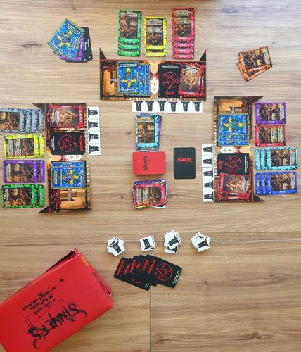 Board Game: Sinners