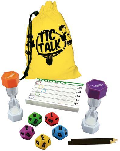 Board Game: Tic Talk
