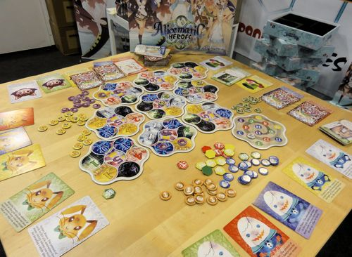 Board Game: Alicematic Heroes
