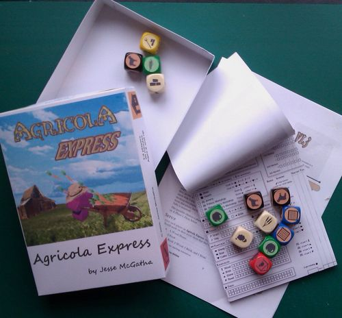 Board Game: Agricola Express