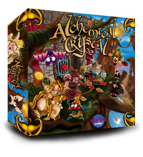 Caja Alchemical Crystal Quest