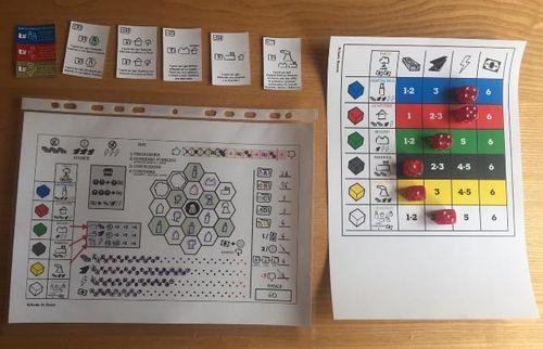 Board Game: Graphite City