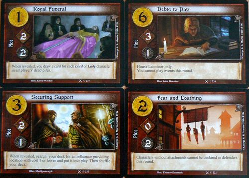 Core Set A Game of Thrones AGOT LCG Multiplayer accessories