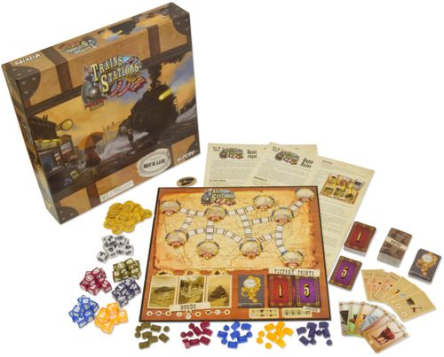Board Game: Trains and Stations