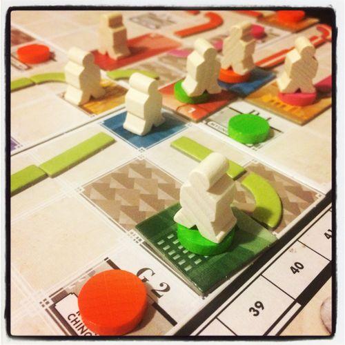 Board Game: Tramways
