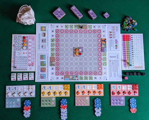Board Game: Merca-Tiny
