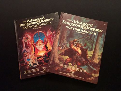 Geeklists for Advanced Dungeons & Dragons (2nd Edition