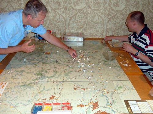 Case Blue Board Game : How much space does this take up? guderians blitzkrieg ii