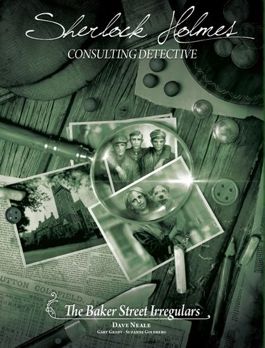 Board Game: Sherlock Holmes Consulting Detective: The Baker Street Irregulars