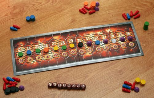 Board Game: Heckmeck Barbecue
