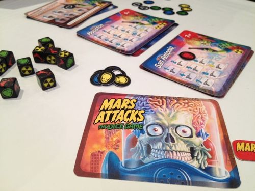 Board Game: Mars Attacks: The Dice Game