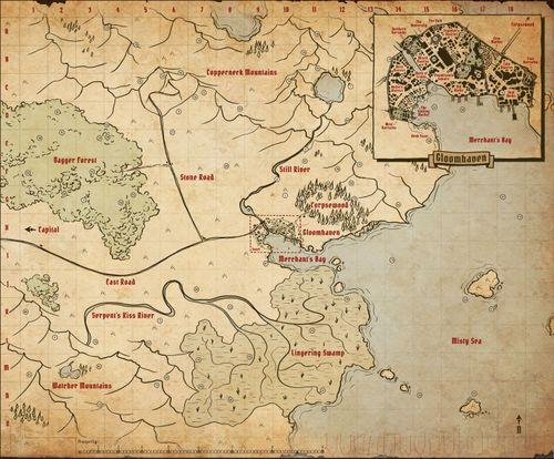 Gloomhaven Map | Gloomhaven | BoardGameGeek