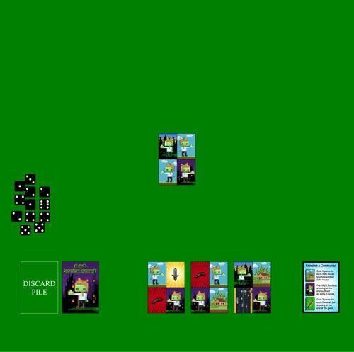 Board Game: 8-Bit Zombie Smash