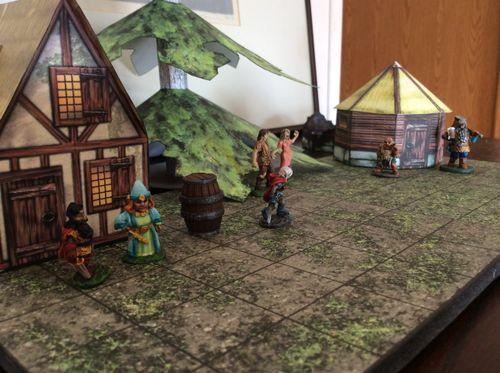 1pg Miniatures Games Terrain Thread    1 Player guild   BoardGameGeek