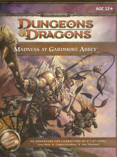 Fourth edition D&D at its finest, and it is very fine indeed