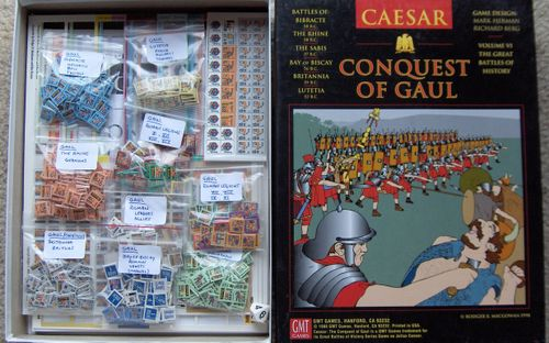 Board Game: Caesar: Conquest of Gaul